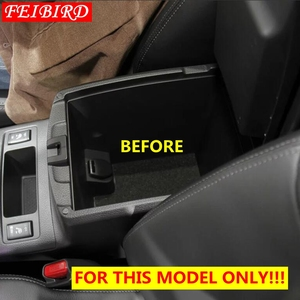 Image 3 - For Nissan X Trail X Trail T32 Rogue 2014   2019 Black Central Console Multifunction Storage Box Phone Tray Accessory