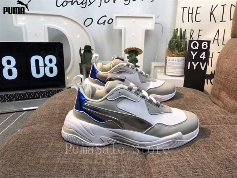 d59b9b68c27aa6 PUMA Thunder Spectra Sneakers Men Women Sports Shoes Retro Dad Shoes  Thunder Desert Electric Badminton Shoes Size 35.5 44-in Badminton Shoes  from Sports ...