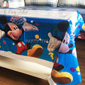 Party supplies 1pcs Mickey Mouse theme party, birthday party decoration disposable table cloth table cover