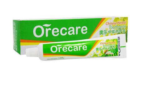 TIEN 2 PCS Orecare Toothpaste Contains Extracts of Chinese Medicinal Herbs Orecare Chinese Herbal Toothpaste 2 boxes of tien calcium for children