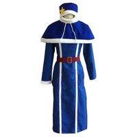 2016 Fairy Tail Juvia Lockser Dress Cosplay Costume Full Set All Size Custom Made Anime Clothing