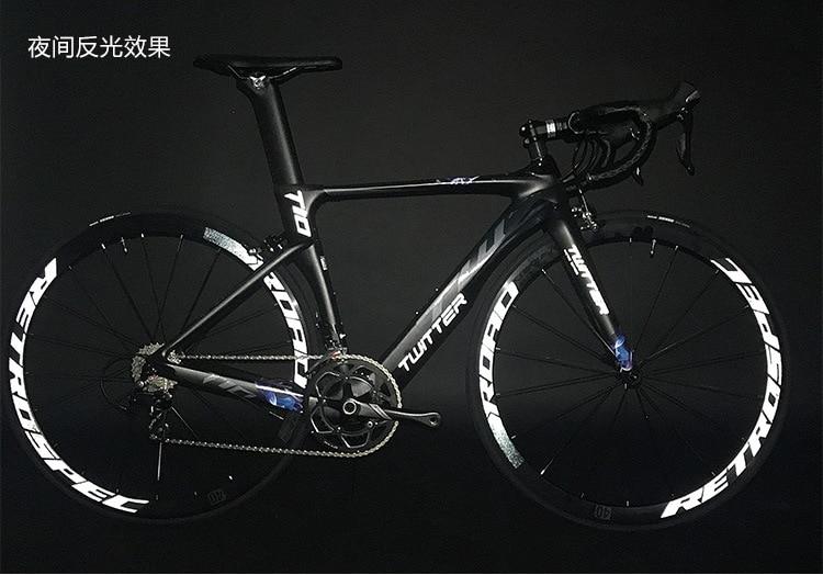 C6.0 super leve de alumínio estrada bicicleta