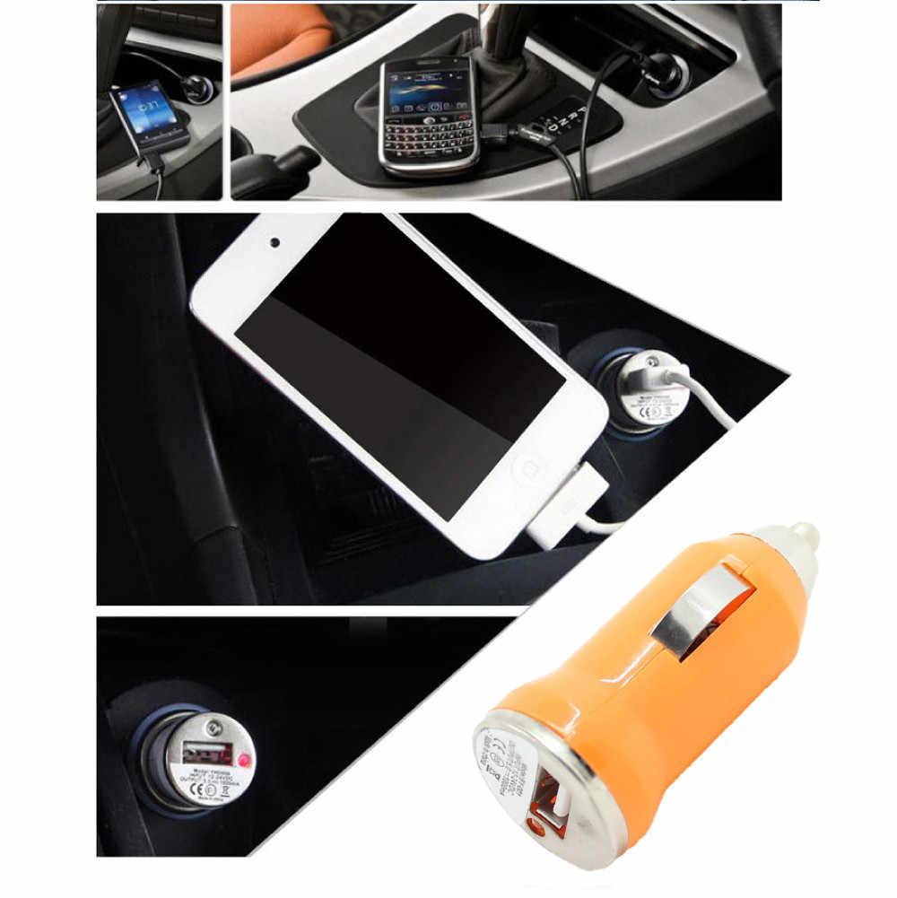 Samochód stylizacji mp3 usb adapter ładowarka samochodowa ładowarka samochodowa USB dla Apple iPhone ipod nano Mini MP4 MP3 PDA td17 dropship * 0.8