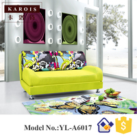 Modern Multi Functional Fabric Sofa Bed 1 2 M 1 35 M 1 5 M Double