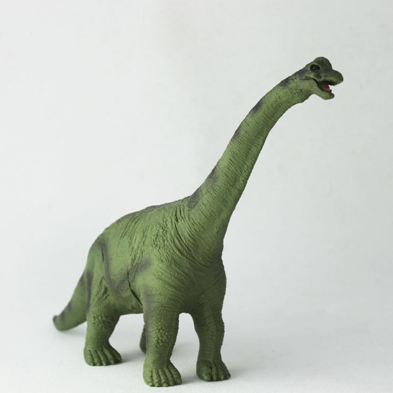 10'' simulation dinosaur model kids educational toy D2606-5  13pcs simulation vinyl dinosaur models hand puppet kids child educational development gift toy set