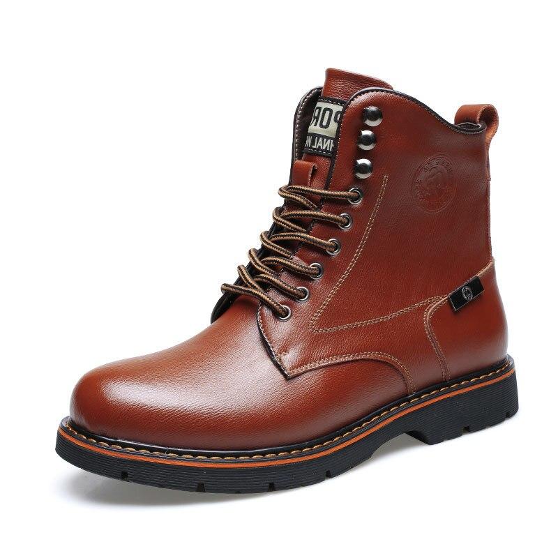 Hommes Martins En Osco Chaudes Jlf8634mbl Chaussures D'hiver De Bottines Moto Cuir Bottes Peluche Martens Automne jlf8634mbr Marque OAqqwX5