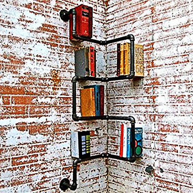 Industrial Urban Style Pipe Shelf  2