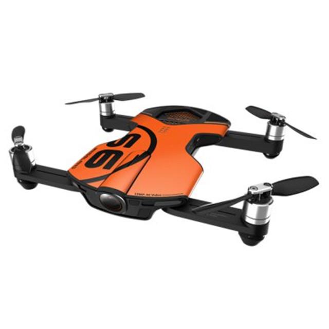 Nueva llegada wingsland s6 de bolsillo selfie cámara drone wifi fpv con 4 k uhd completo de evitación de obstáculos