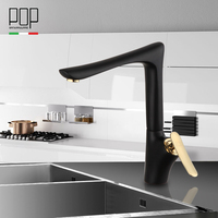 New Design 360 Rotating Faucet Paint Silver Swivel Kitchen Sink Mixer Tap Single Hole Kitchen