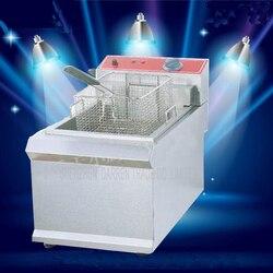 1PC  FY-903  Commercial  Single cylinder Open Fryer Chicken Frying Equipment Commercial Deep Fryer