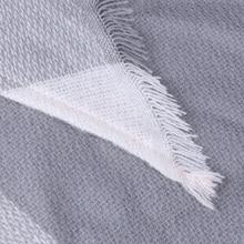 Fashion Plaid Cashmere Scarves And Wraps