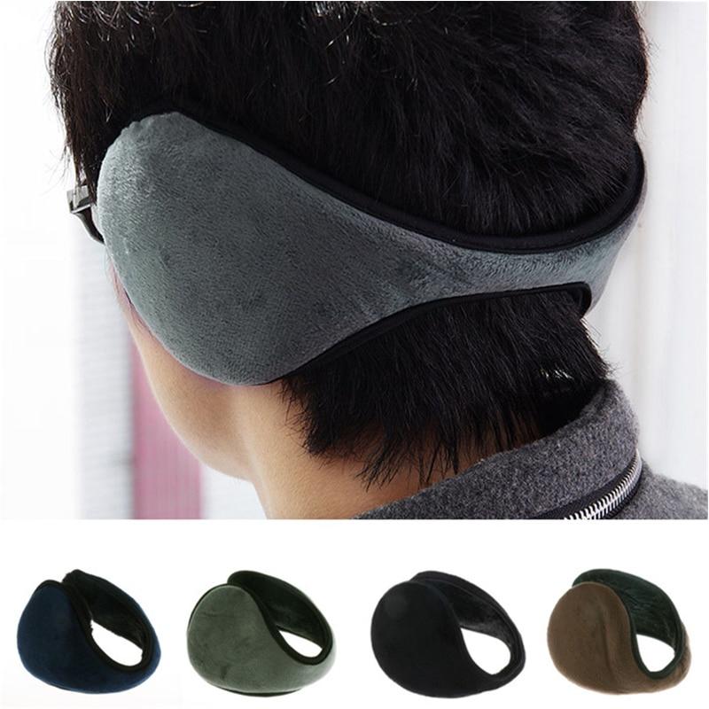 2020 Earmuff Apparel Accessories Unisex Earmuff Winter Ear Muff Wrap Band Ear Warmer Earlap Gift Black/Coffee/Gray/Navy Blue