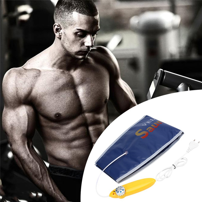 EU Plug Far Infrared Heating Slimming Belt Health Care Electric Waist Body Tummy Sauna Belt For