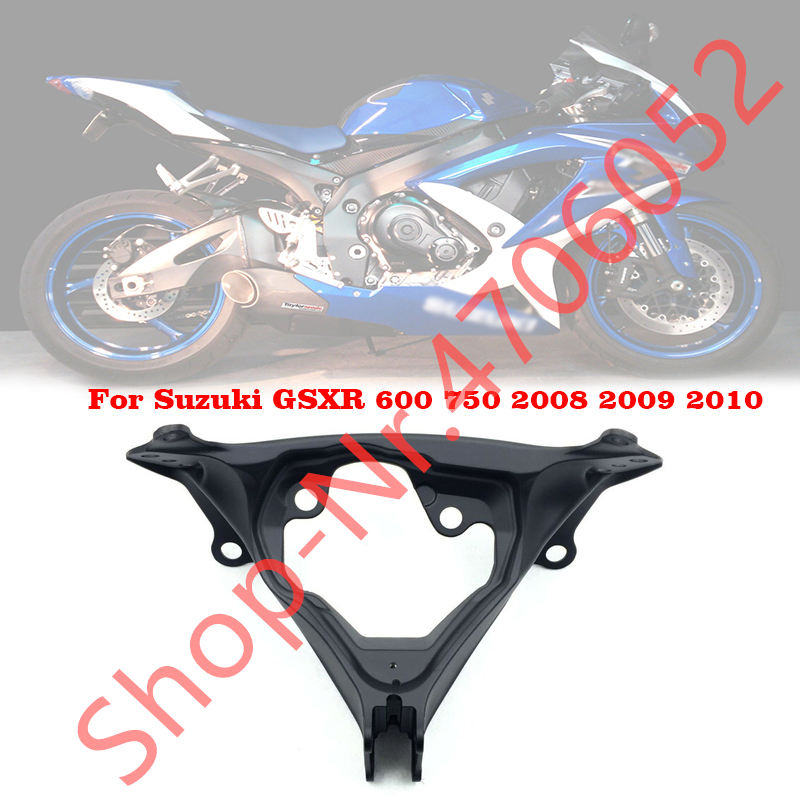 Motorcycle Upper Front Fairing Cowl Stay Headlight Bracket For <font><b>Suzuki</b></font> <font><b>GSXR</b></font> <font><b>600</b></font> 750 <font><b>2008</b></font> 2009 2010 08-10 image
