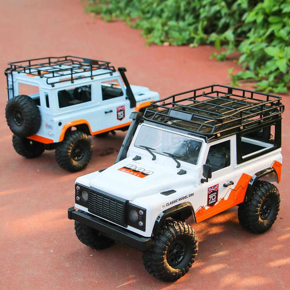 Remote Control Toy Buggy MN 99 For D90 Land Rover Anniversary Edition 1:12 2.4G 4WD Remote Control Car 2 Battery Toys For Kids