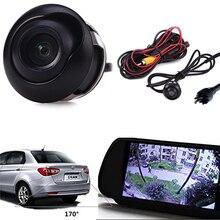 HD CCD Прокат Coche вид спереди Камера Ночное видение 360 градусов Водонепроницаемый Реверсивный резервного Камера для автомобиля DVD Мониторы парковка Системы