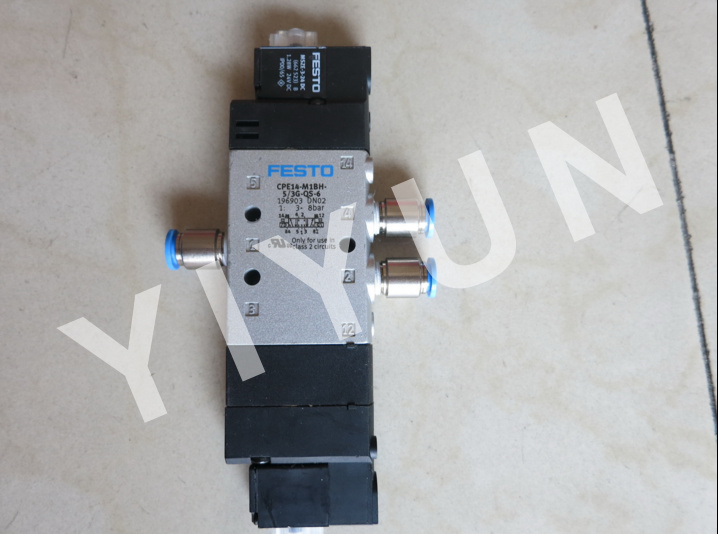 все цены на CPE14-M1BH-5/3G-QS-6 196903 CPE14-M1BH-5JS-1/8 196940 CPE14-M1BH-5LS-1/8 196942 CPE14-M1BH--5J-QS-8 196908 FESTO Solenoid valve