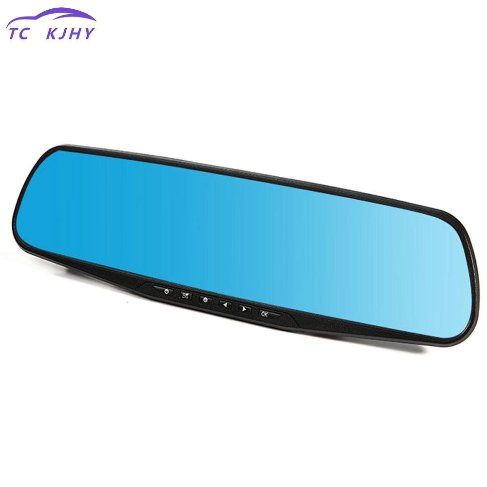 Fhd 1080p Blue Review Mirror Dvr Night Vision Car Dvr Detector Camera Digital Video Recorder Auto Camcorder Dash Cam Car Dvr