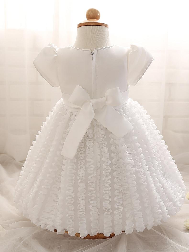 Baby mädchen dress pailletten taufkleid neugeborenen kleider marke