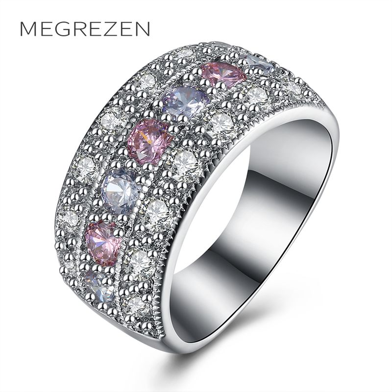 art itm zirconia cz ring fashion responsive cubic image deco style jewelry cocktail rings bling costume swirl bmr my