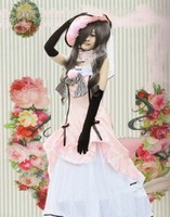 Japan Anime Black Butler ciel Phantomhive Cosplay Costumes female fashion style dress