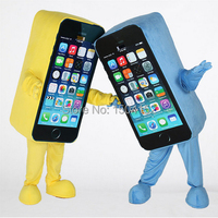 Factory Direct Sale Sale Cell Phone Mascot Costume Apple IPhone Adult Size