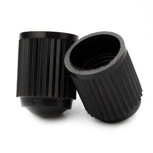 Image 5 - 20 tapas de plástico para válvula de polvo, válvula de aire para neumático de bicicleta o de coche, tapas negras para válvula de aire de neumático de motocicleta, accesorios para coche