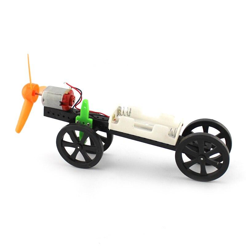 JMT самостоятельная сборка, Модель Ветрогенератора, автомобильный электрический двигатель, приводной пропеллер, 4WD, маленький автомобиль, ст...