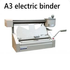 Best Quality A3 size 460x325mm (18 x 12.7) Electric Perfect Book Binding Machine Glue book binder manual hot glue book binding binder machine