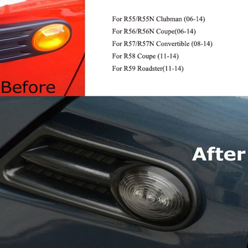 Nice Amber Color Led Side Marker Light Turn Signal For Mini Cooper R55 Clubman R56 06 14 R57 08 R58 R59 Roadster 11 In Decorative Lamp From