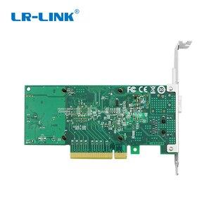 """Image 5 - LR LINK 4001PT PF podwójny port 10 Gb Ethernet PCI E światłowodowe karta sieciowa SFP +, RJ45, konwerter światłowodowy """"trzy w jednym"""" połączenie"""