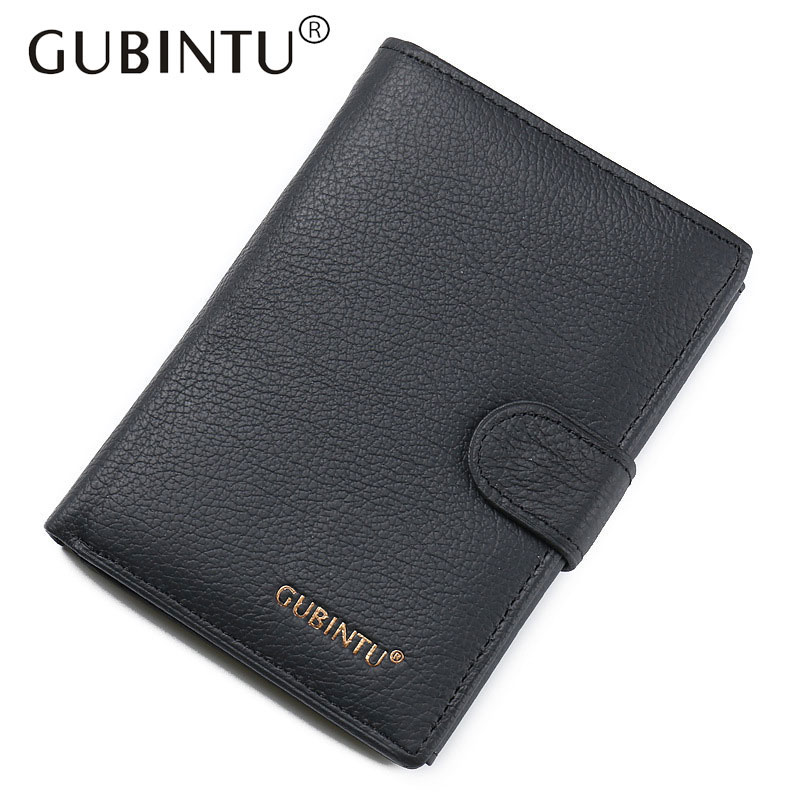 Male Genuine Leather Passport Holder Men Wallet With Passport Cover Pouch Case Pocket Coin Pocket ID Card Holder Wallets Purses passport cover travel wallet document passport holder organizer cover on the passport women business card holder id