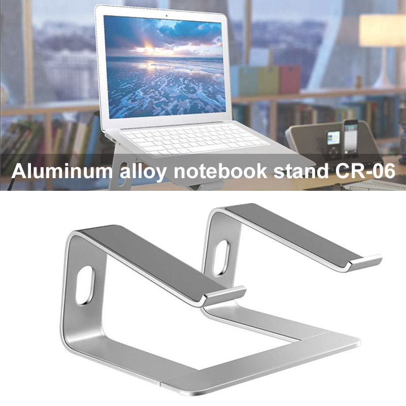 Newly Aluminum Alloy Laptop Holder Stand Ergonomics Heighten Rack for Desktop NotebookNewly Aluminum Alloy Laptop Holder Stand Ergonomics Heighten Rack for Desktop Notebook