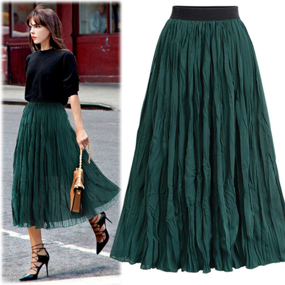 2020 Women Skirts Long Newly Bodycon Solid Fashion Ladies Casual Elegant Skirt Hot Selling High Quality saia das mulher Gift SS5