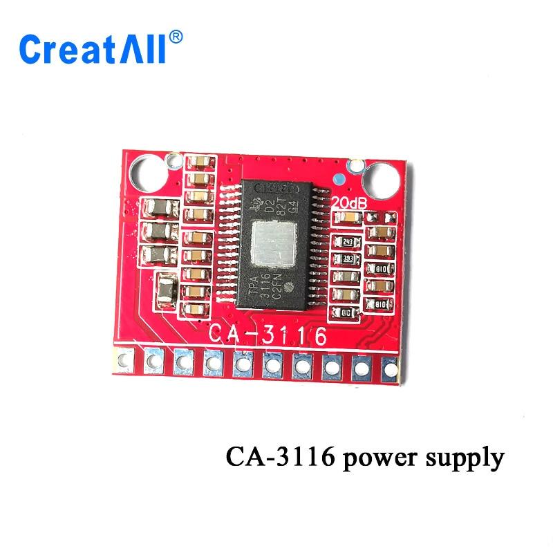 2X50W Dual Sound Digital Amplifier Board 24V 100W Ca-3116