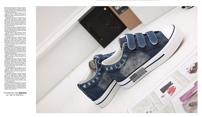 Free Shipping Spring and Autumn Men Canvas Shoes High Quality Fashion Casual Shoes Low Top Brand Single Shoes Thick Sole 7583 -  -  (3) -  -  -  -  -  -