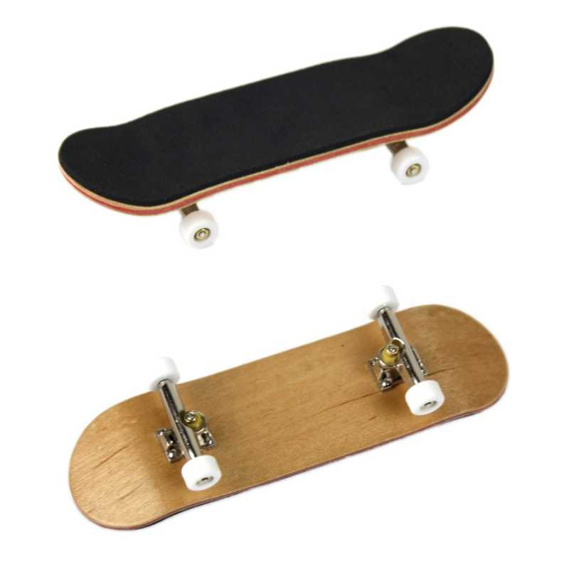 Профессиональный Тип колесные диски Противоскользящий коврик клен мини скейтборд Stent подшипник колеса игрушки для пальцев случайный цвет