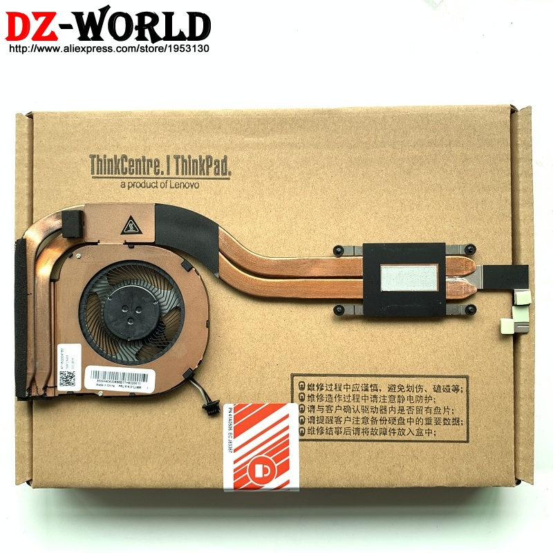 New Original for ThinkPad T480S Heatsink CPU Cooler Cooling Fan UMA Integrated graphics  01LV695 01HW699 01HW698 01HW697-in Fans & Cooling from Computer & Office    1