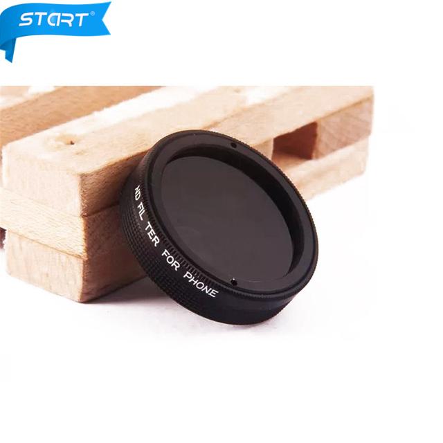 Nuevo Clip Universal filtro ND Ter para Teléfono Lente de la Cámara para iphone 6 5s 5c samsung s3 s4 s5 s6 htc jt47