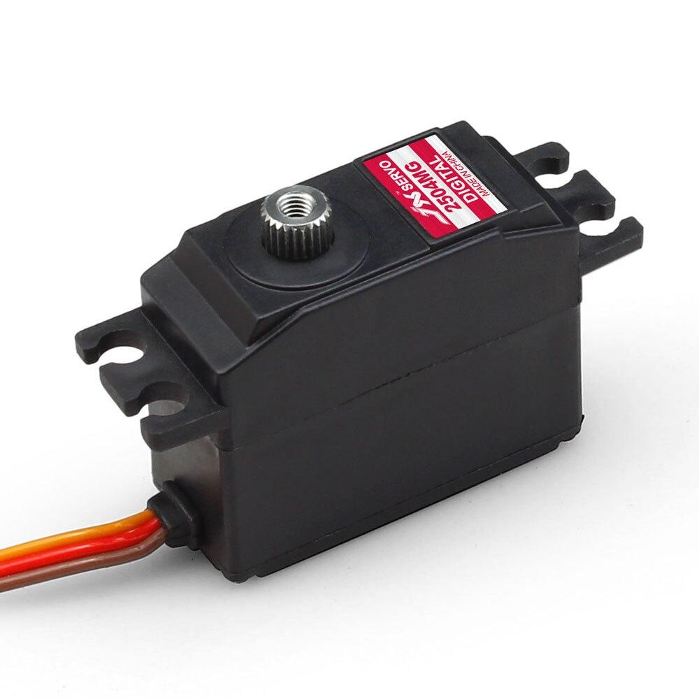 JX Servo/PDI - 2504 mg / 25 g metal steering gear tooth Numbers mg90s copper tooth metal gear tilt steering gear 360 degree