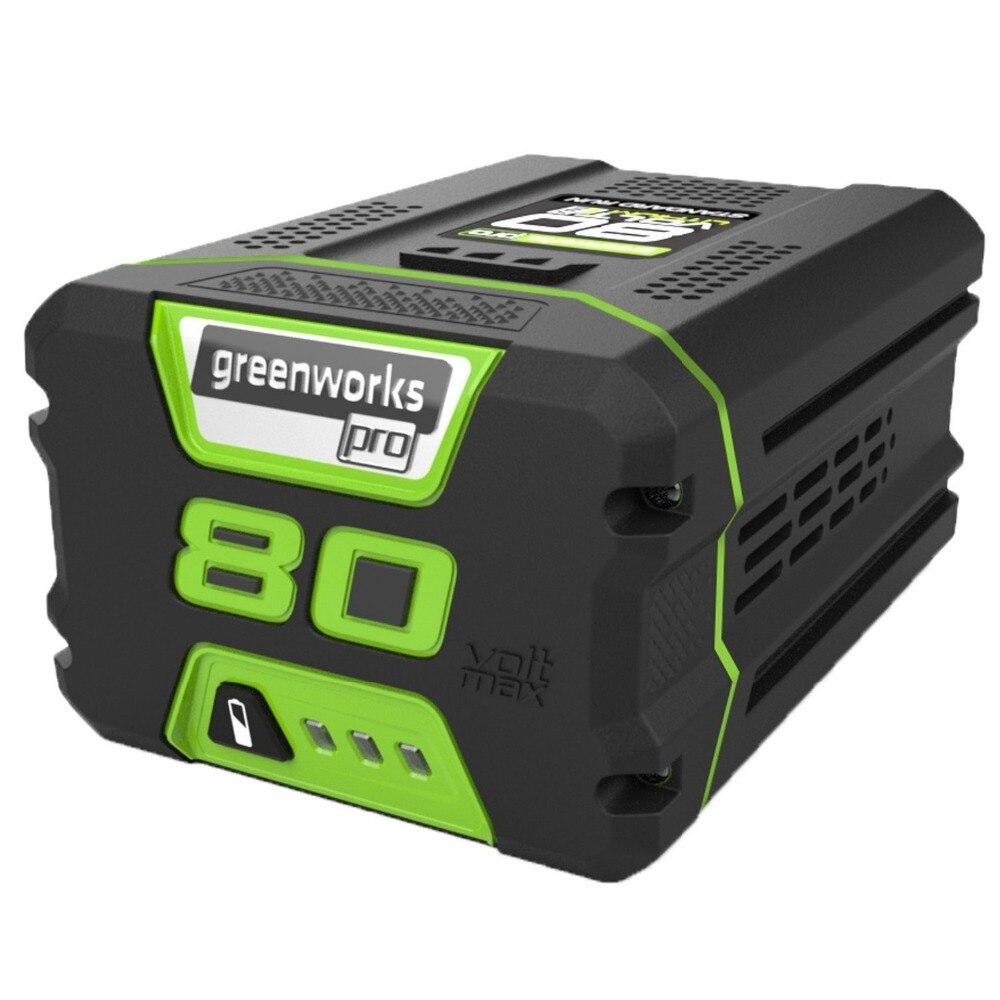 Grátis para Greenworks Bateria de Lítio Frete Professional 5.0ah Não 80 v