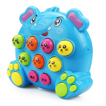 1Pc Creative Elephant Music Story Player Baby Early Learning Educational Kids Toys for Children Game Lovely Birthday Party Gifts(China)