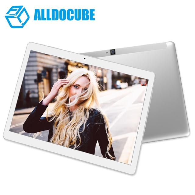 Alldocube/CUBE T12 3 г Телефонный звонок Планшеты PC 4 ядра 10.1 дюймов 800*1280 IPS Android6.0 MT8321 1 ГБ оперативной памяти 16 ГБ ROM двойной Камера
