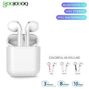 Image 1 - TWS 5.0 Bluetooth Earphones IPX5 Waterproof Headset наушники беспроводные Nouveau Wireless Headphones Bluetooth Earbuds V20