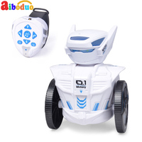 Aiboduo Robot BG1526 Gravity Sensing Watch Remote Sensin Figure Toy Robot Control 2.4G RC Robot Toys Boys Children Birthday Gift