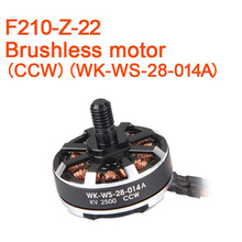 3pcs Lot Original Walkera F210 RC Helicopter Quadcopter Spare Parts Brushless Motor CCW WK WS 28