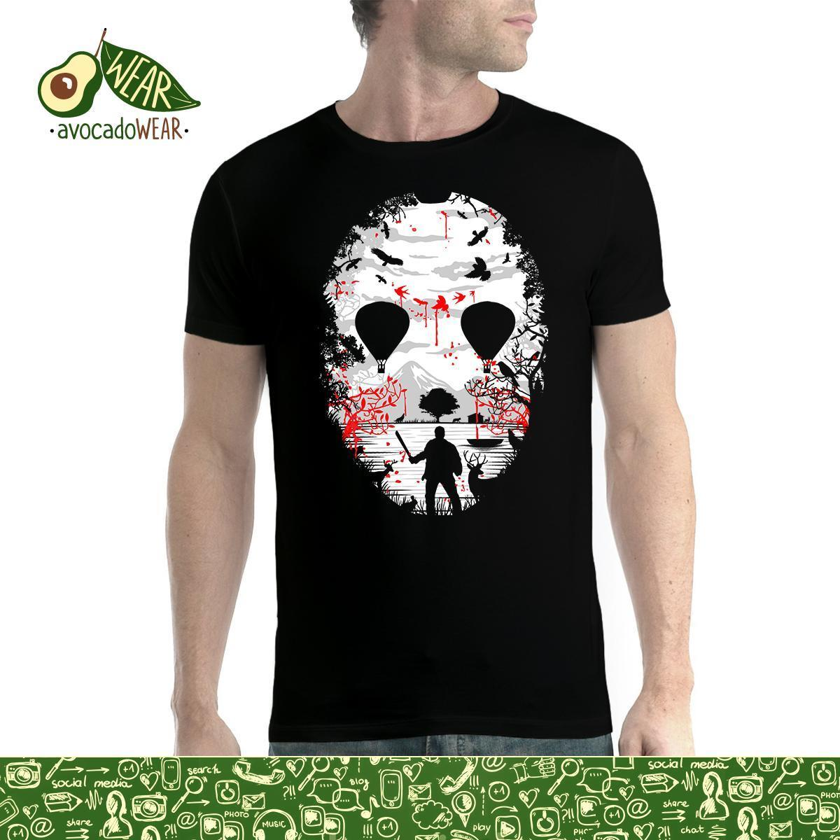 Mask Death View Balloons Men T-shirt S-3XL New T Shirts Tops Tee Unisex Funny High Quality Casual Printing 100% Cotton