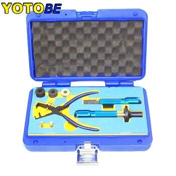 erikc liseron diesel injector remova common rail injectors repair tools assemble disassemble tools for cr injectors Fuel Injector Oil Seal Replacer For BMW B38/B48 Install & Remove Tool Injectors Seal