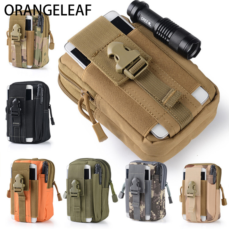 2018 Men Waist Bag Travel Bag Bum Bag Pouch Waterproof Military Belt Waist Packs Molle Nylon Mobile Phone Wallet Drop Shiping