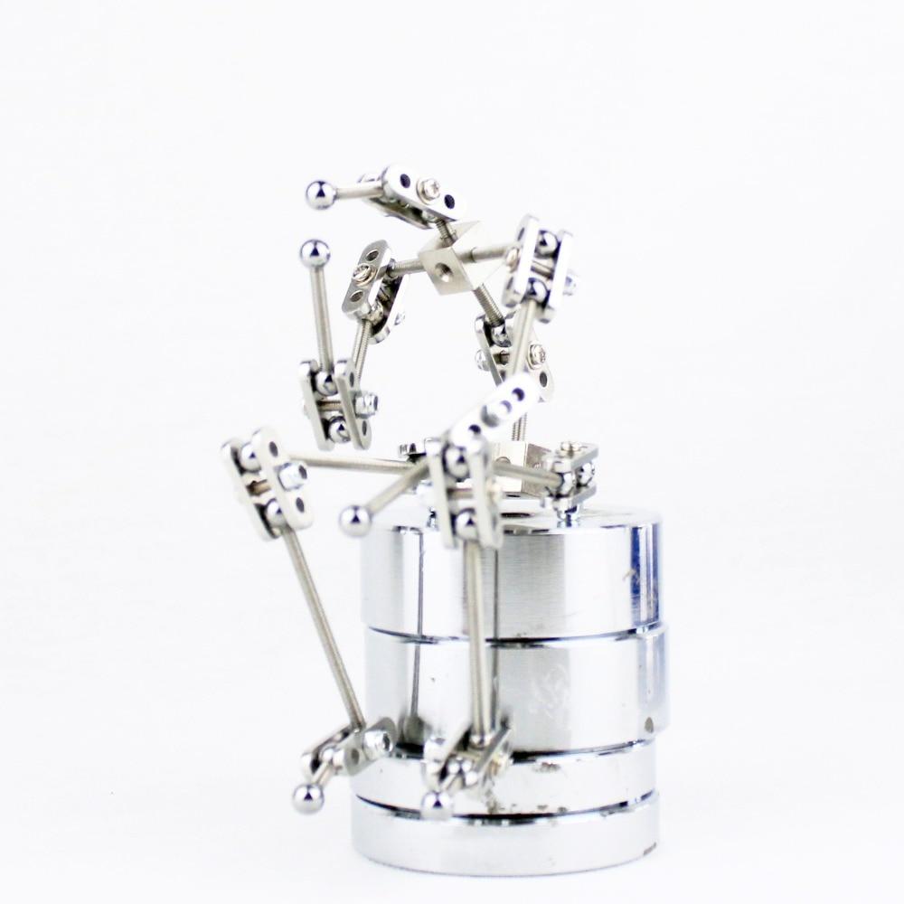 DIY kit studio armatura ne-Pripravljena kovinska armatura za lutko stop motion z nekaj različnimi višinami
